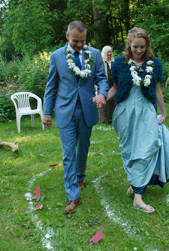 Huwelijk Cindy Erwin